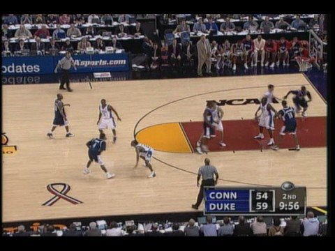 2004 Final Four UCONN vs Duke