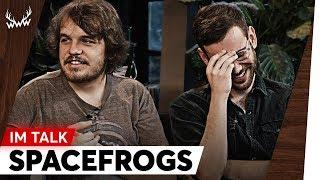 Trennungsgerüchte, Erzfeinde, Begegnung mit LeFloid uvm. | Space Frogs im Talk