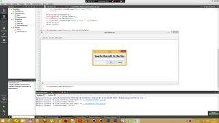 Урок 24 - Добавление функции файлового менеджера в текстовый редактор