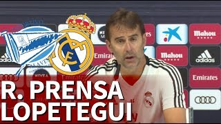 Alavés vs Real Madrid  | Rueda de prensa de Lopetegui | Diario AS