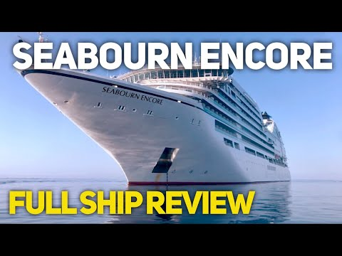 Seabourn Encore - Bigger. But better? Ship Review (4K)