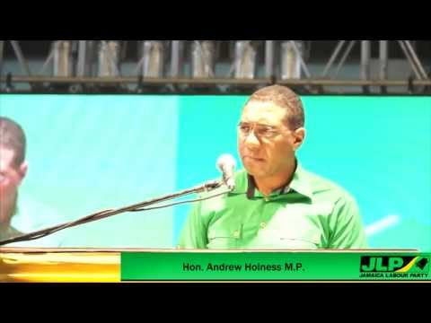Jamaica Labour Party Leader Hon. Andrew Holness Addresses 71st Annual Conference