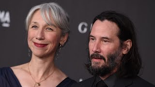 Keanu Reeves Holds Hands With Longtime Friend Alexandra Grant In First Red Carpet PDA