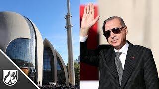 Erdogan eröffnet die Ditib-Moschee in Köln