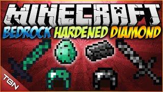 Minecraft 1.7.10   Bedrock and Hardened Diamond Tools/Armor MOD   [ Diamante reforzado ]