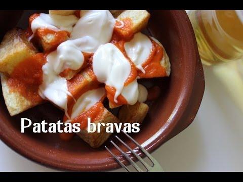 PATATAS BRAVAS RECIPE BY SPANISH COOKING