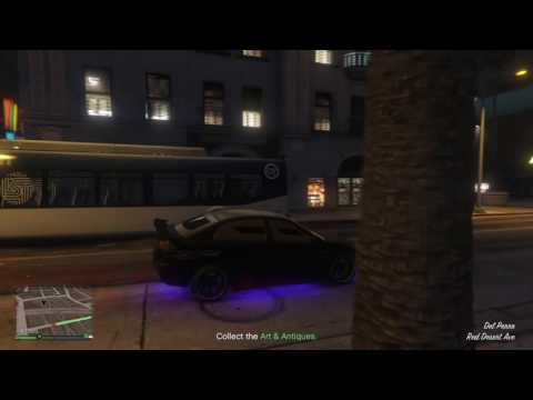 GTA V Online A City Bus Spawning On Top Of A City Bus!