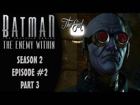 Batman: The Enemy Within (Telltale/Season 2) Episode 2: Ending Gameplay Walkthrough Part 3