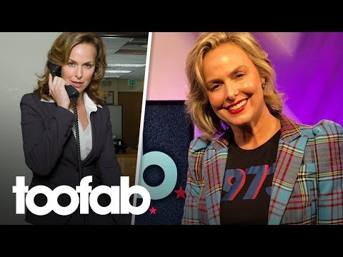Melora Hardin On Rebooting 'The Office,' Filming Iconic Dinner Party Episode | Toofab