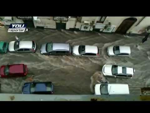 Heavy rainfall in Greek capital Athens