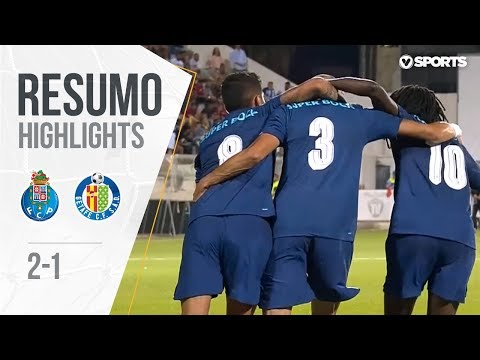 Highlights | Resumo: FC Porto 2-1 Getafe (Copa Ibérica - Final)