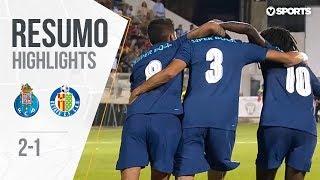 Highlights   Resumo: FC Porto 2-1 Getafe (Copa Ibérica - Final)