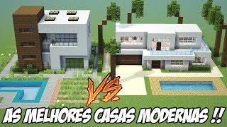 Minecraft: BATALHA DE CASAS MODERNAS (ft.RafaelRGP)