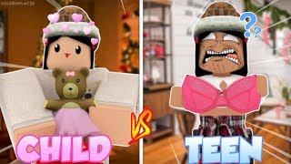 Roblox Bloxburg | Kind VS Teen CHRISTMAS