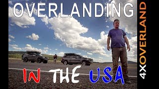 OVERLANDING IN THE USA, Report 4. Crash site to the forest | 4xOverland