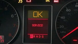 2007 Audi A4 2.0T Oil and Filter Change