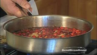 Cranberry Sauce Cooking Demonstration