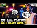 - Aditech Playing With Carry Minati 1st Time ❤️🤯 - Carry Minati Vs Aditech 🤣 - Garena Free Fire