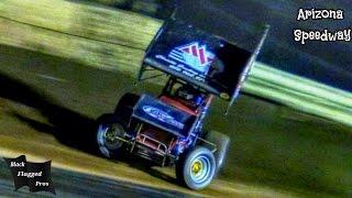 Arizona Speedway ASCS Sprint Car Feature