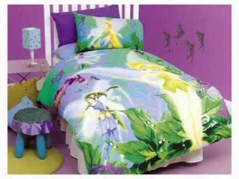 Disney fairies bedroom design decorating ideas youtube for Disney fairies bedroom ideas