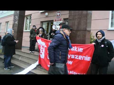 5 rocznica śmierci Jolanty Brzeskiej - protest pod Prokuraturą Generalną, 1.03.2016