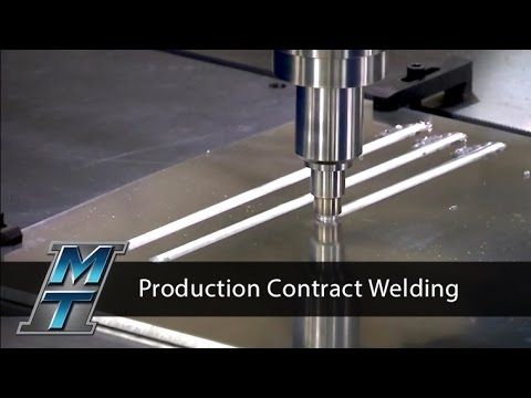 Friction Stir Welder for a Production Contract Welding Environment