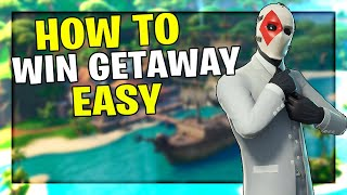 Fortnite - How To Win Getaway | High Stakes Challenge Guide (Fast & Easy)