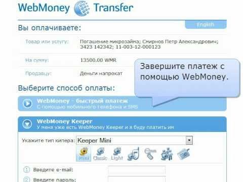 Новый сервис от «Деньги напрокат» и WebMoney