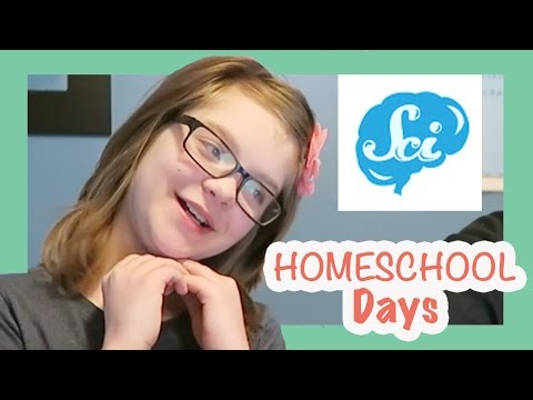 HOMESCHOOL DAYS- Presley Writes Essay on SciShow Psych Episode & Bottle Flipping! ActOutGames
