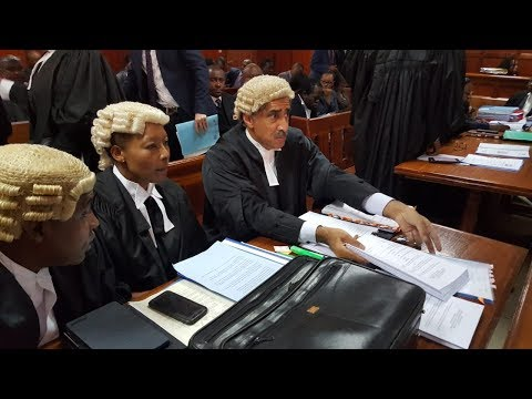 DPP, DCJ lawyers battle to retain UK lawyer Qureshi, Orengo and Omogeni in the case
