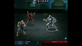 Marvel Avengers Alliance Heroic Battle Cable and Deadpool