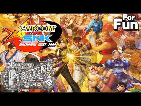Get Into Fighting Games (FOR FUN): Capcom Vs SNK