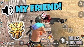Fireteam Aggressive Gameplay! (Tagalog) Rules of Survival