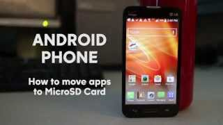 How to Move Apps to SD Card on Android Phone - Free up space and increase storage