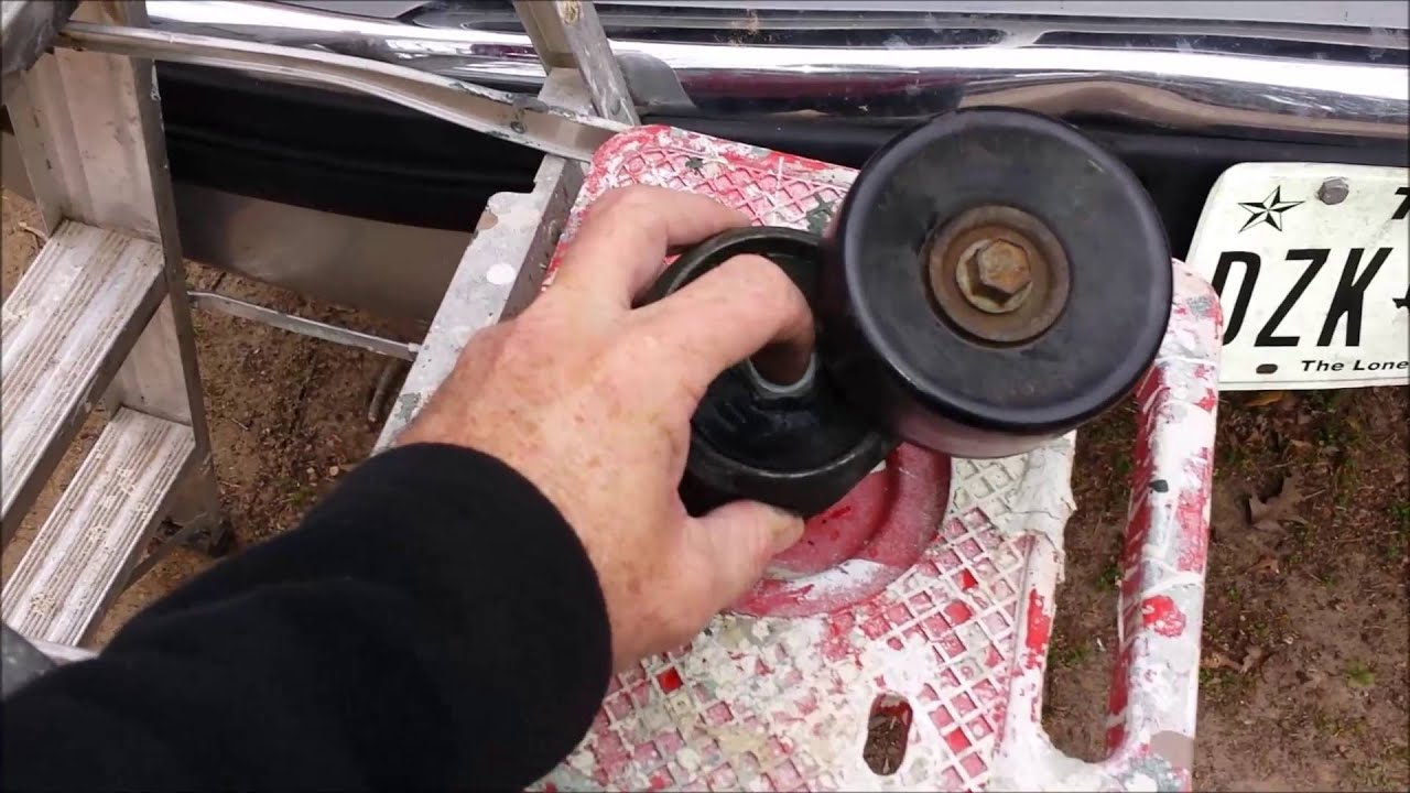 small resolution of tensioner pulley repair 7 3l diesel 1995 ford f350