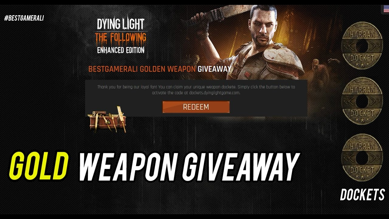 Dying light tutorial gold weapon giveaway docket codes dying light tutorial gold weapon giveaway docket codes giveaway malvernweather Images