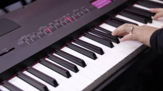 roland fp 80 sound demo concert piano