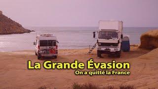 LA GRANDE ÉVASION ⛔️ Un sentiment amer de liberté 🤔 @The vadrouilleurs for rêveur  #vanlife #voyage
