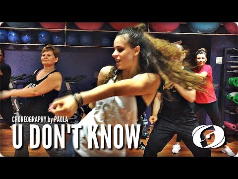 U DON'T KNOW - Salsation® Choreography by Paola