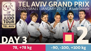 Judo Grand-Prix Tel Aviv 2020 - Day 3:  Elimination Tatami 2