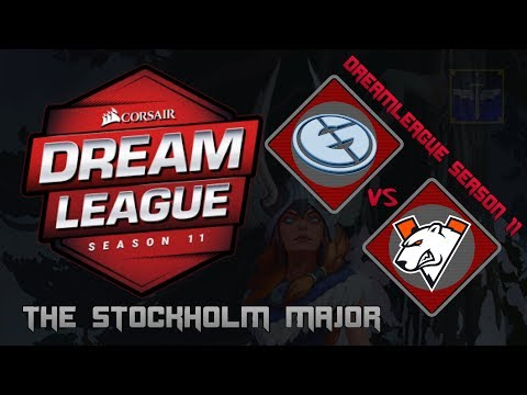 Evil Geniuses vs Virtus / Bo3 / DreamLeague Season 11 Stockholm Major/ Dota 2 Live
