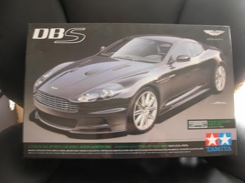 Unng Aston Martin DBS 1/24 Tamiya - YouTube