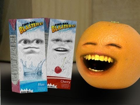 Annoying Orange  Juice Boxing