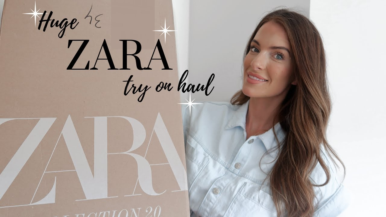 HUGE ZARA TRY ON HAUL | SUMMER 2020 | VICKY THORNTON NORRIS