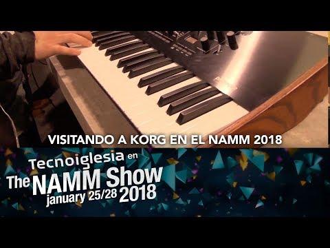 Visitando a KORG en el NAMM 2018