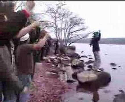 The HAKA - Loch Ness Version Travel Video