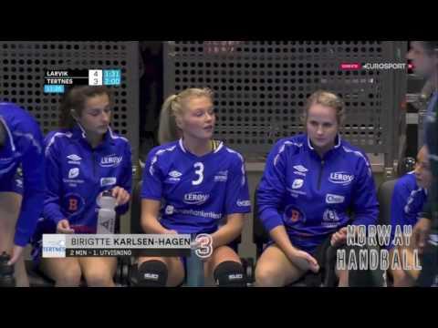 Norwegian Handball Championship Final 2016: Larvik vs. Tertnes