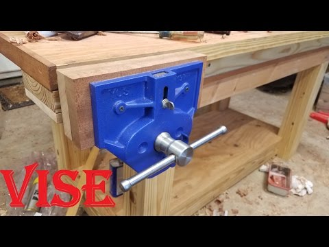 Installing A Big Vise Yost 9 Inch Quick Release Vise Youtube