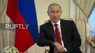 Russia: Putin offers his 'deepest condolences' to families of St. Petersburg blast victims