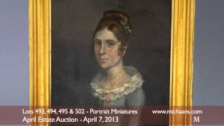 Antique Portrait Miniatures